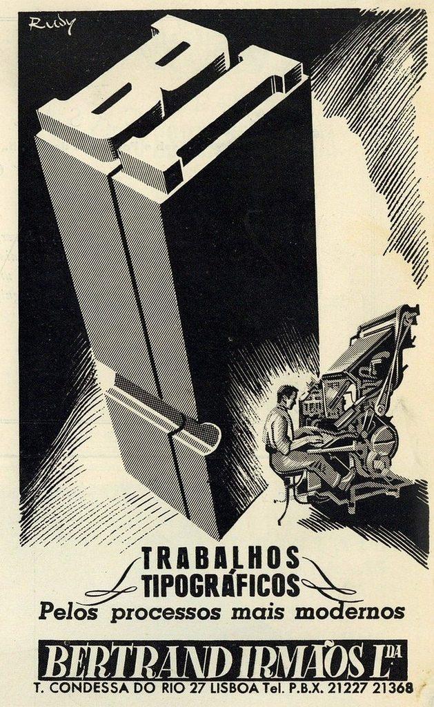 Bertrand Irmàos imprimió los visados