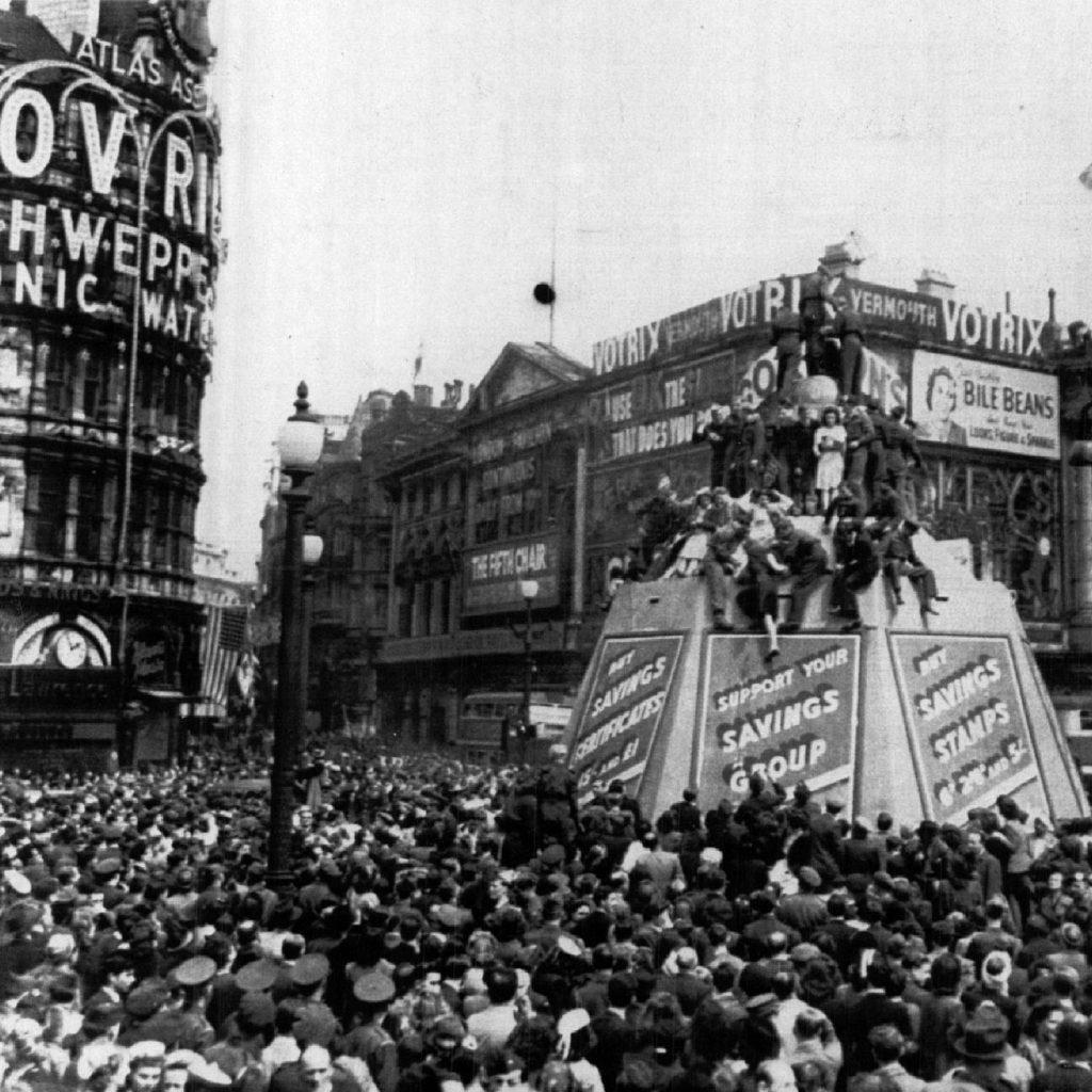 Dia de la victoria en Londres